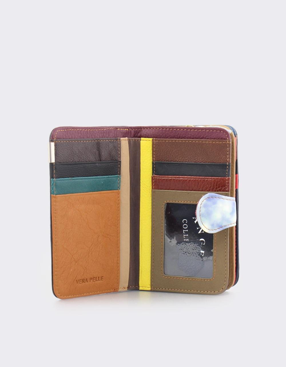 Εικόνα από Γυναικεία δερμάτινα πορτοφόλια multi colour Σιέλ