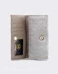 Εικόνα από Γυναικεία πορτοφόλια με διακοσμητικό Γκρι