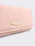 Εικόνα από Γυναικεία πορτοφόλια με διακοσμητικό Ροζ