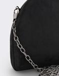 Εικόνα από Γυναικείοι φάκελοι clutch βελουτέ Μαύρο
