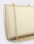 Εικόνα από Γυναικείοι φάκελοι clutch με κυκλικό κούμπωμα Χρυσό