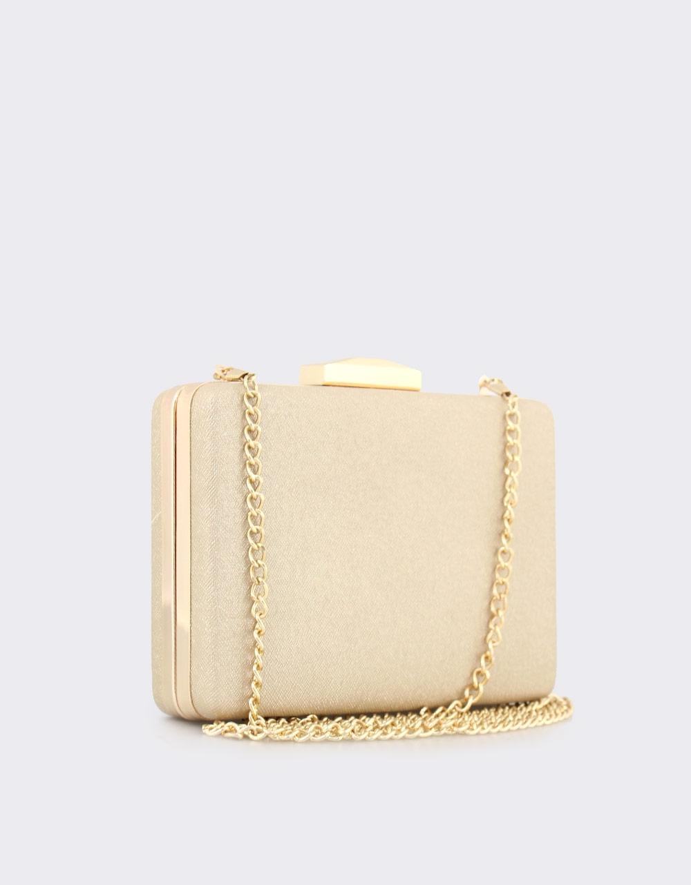 Εικόνα από Γυναικείοι φάκελοι clutch με χρυσόσκονη Χρυσό