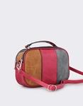 Εικόνα από Γυναικείες τσάντες ώμου τρίχρωμες Μπορντώ
