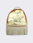 Εικόνα από Γυναικεία σακίδια πλάτης με ποδήλατο Γκρι