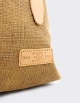 Εικόνα από Γυναικεία σακίδια πλάτης υφασμάτινα με λουράκια Καφέ