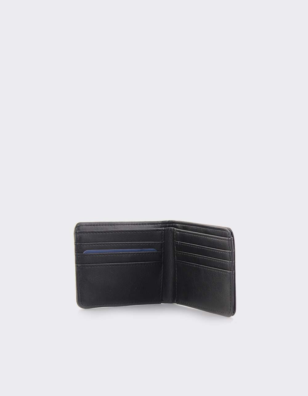 Εικόνα από Ανδρικά πορτοφόλια με αποσπώμενη θήκη Μαύρο
