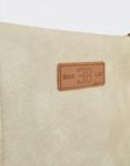 Εικόνα από Γυναικείες τσάντες ώμου χιαστί μονόχρωμες Μπεζ