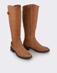 Εικόνα από Γυναικείες μπότες σε απλή γραμμή Ταμπά