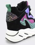 Εικόνα από Γυναικεία sneakers με fish scale λεπτομέρεια Multi