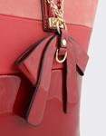 Εικόνα από Γυναικείες τσάντες χειρός με δίχρωμο σχέδιο Κόκκινο