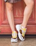 Εικόνα από Γυναικεία sneakers πολύχρωμα Λεοπάρ
