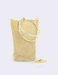 Εικόνα από Γυναικείες τσάντες χειρός με strass Χρυσό