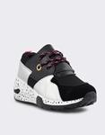 Εικόνα από Γυναικεία sneakers με μοτίβο Μαύρο/Ασημί