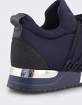 Εικόνα από Γυναικεία sneakers με δίχρωμη σόλα Navy