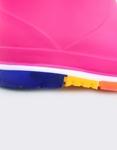 Εικόνα από Παιδικές γαλότσες με πολύχρωμη σόλα Φούξια