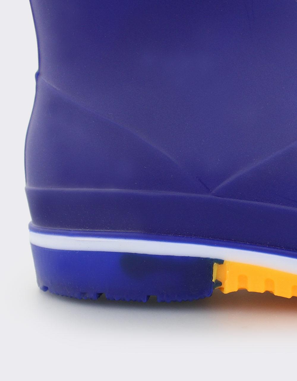 Εικόνα από Παιδικές γαλότσες με πολύχρωμη σόλα Μπλε