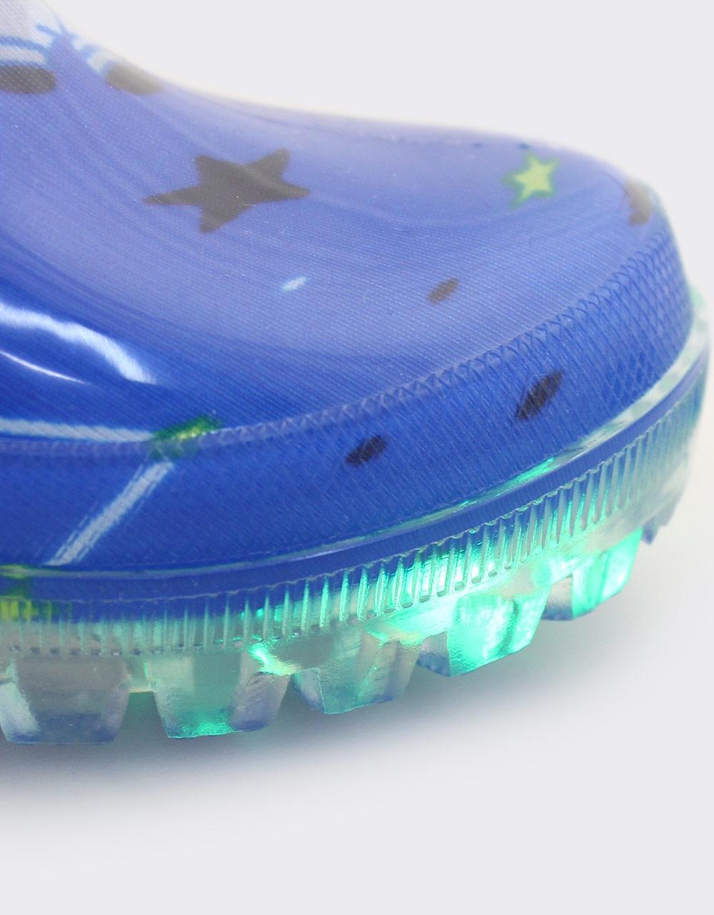 Εικόνα από Παιδικές γαλότσες με φωτάκια Μπλε