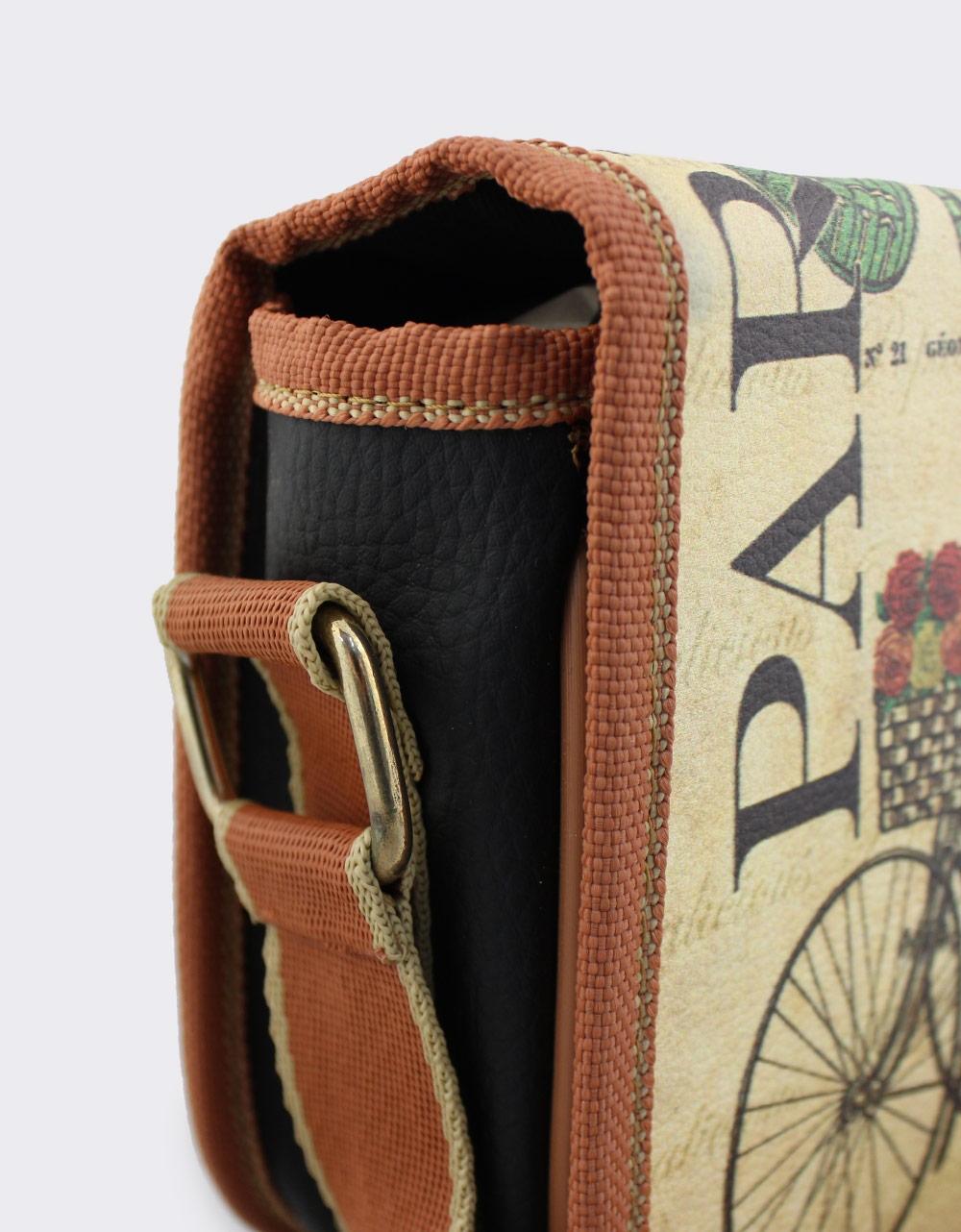 Εικόνα από Γυναικείες τσάντες ώμου με ποδήλατο Μαύρο