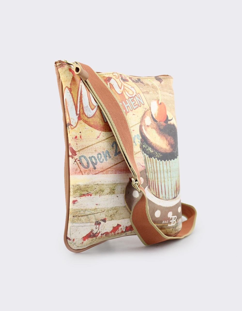 Εικόνα από Γυναικείες τσάντες ώμου με τύπωμα Ταμπά