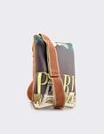 Εικόνα από Γυναικείες τσάντες ώμου με print Paris Ταμπά