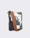 Εικόνα από Γυναικείες τσάντες ώμου με Marilyn Monroe Μαύρο