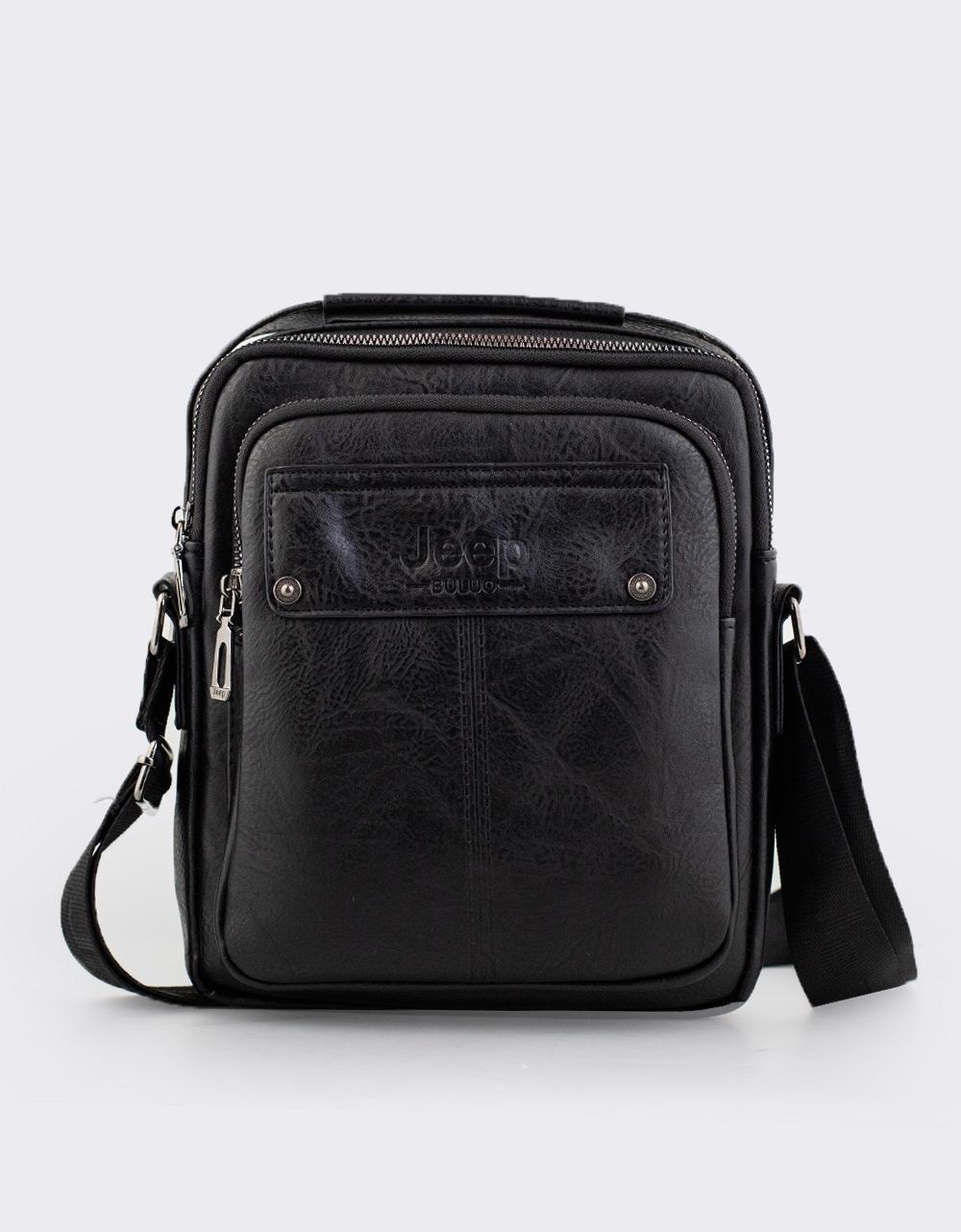 Εικόνα από Ανδρικές τσάντες ώμου με εξωτερική θήκη Μαύρο