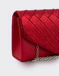 Εικόνα από Γυναικείοι φάκελοι με μεταλλιζέ λεπτομέρεια Κόκκινο