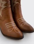 Εικόνα από Γυναικεία μποτάκια με σχέδιο Ταμπά