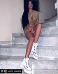 Εικόνα από Γυναικεία μποτάκια με τρακτερωτή σόλα Λευκό