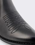 Εικόνα από Γυναικεία μποτάκια αστραγάλου με σχέδια Μαύρο