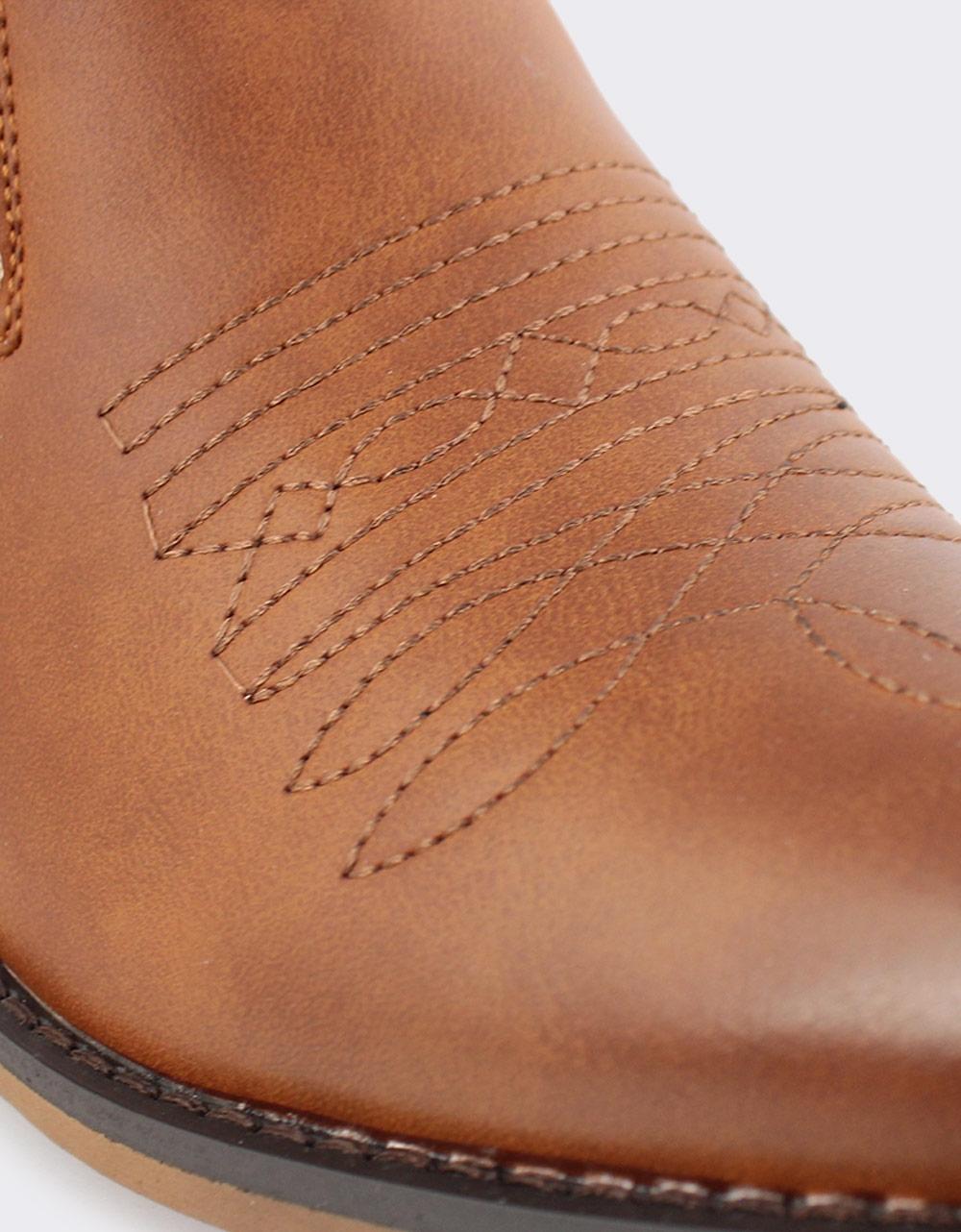 Εικόνα από Γυναικεία μποτάκια αστραγάλου με σχέδια Ταμπά