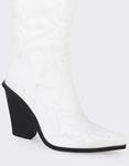 Εικόνα από Γυναικείες μπότες cowboy Λευκό