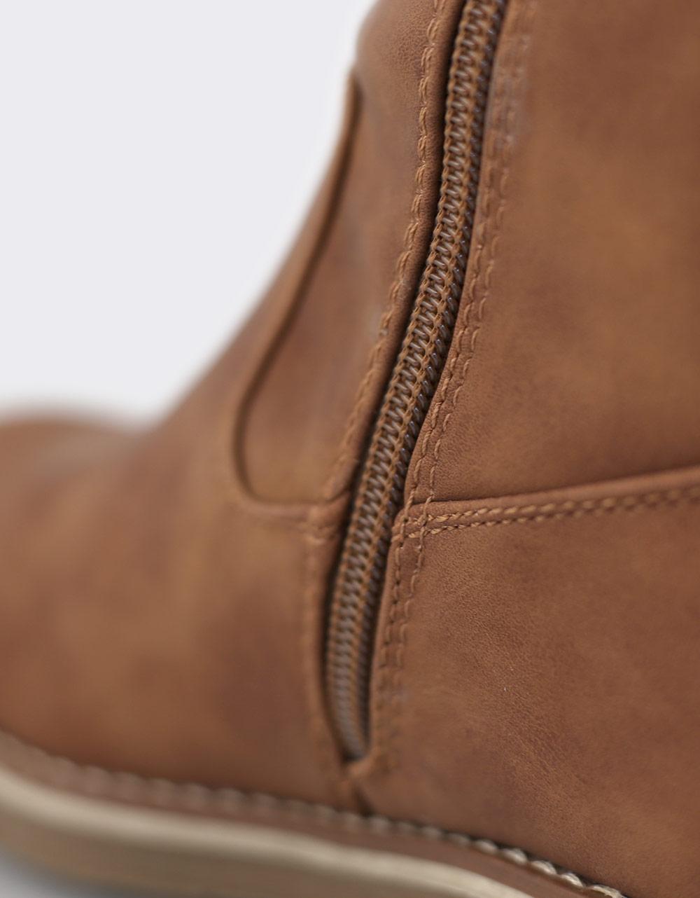 Εικόνα από Γυναικείες μπότες με γουνάκι Ταμπά