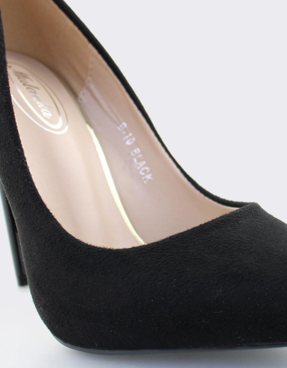 Εικόνα από Γυναικείες γόβες ψηλοτάκουνες Μαύρο