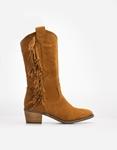Εικόνα από Γυναικείες μπότες με κροσσάκια Ταμπά