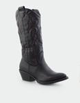 Εικόνα από Γυναικείες μπότες cowboy Μαύρο