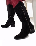 Εικόνα από Γυναικείες μπότες με λεπτομέρεια Μαύρο