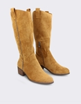 Εικόνα από Γυναικείες μπότες με λεπτομέρεια Ταμπά