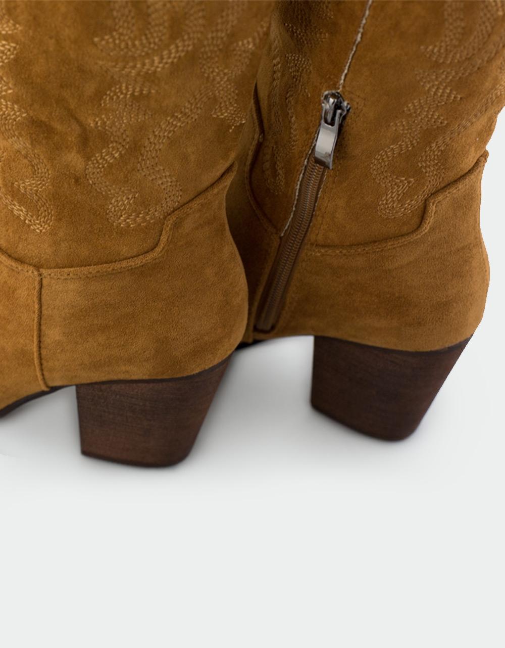 Εικόνα από Γυναικείες μπότες με κεντητά σχέδια Ταμπά