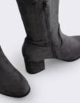 Εικόνα από Γυναικείες μπότες με χαμηλό τακούνι Γκρι