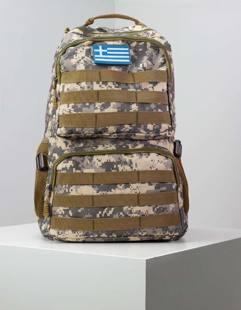 Εικόνα από Ανδρικά σακίδια πλάτης με εξωτερικές θήκες Παραλλαγής