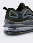 Εικόνα από Ανδρικά sneakers με αερόσολα και ανάγλυφα σχέδια Μαύρο