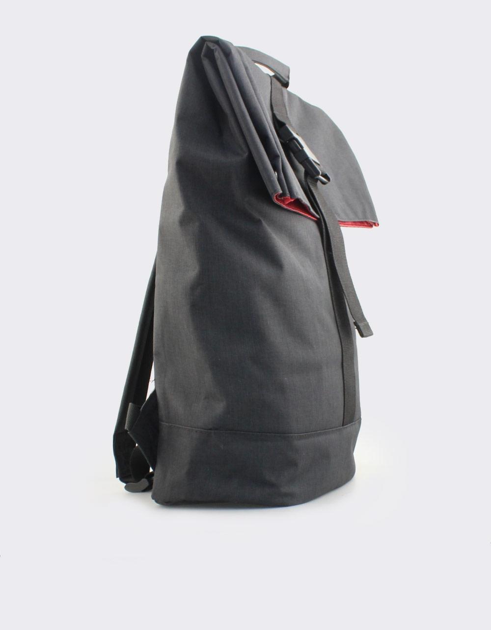 Εικόνα από Ανδρικά σακίδια πλάτης μονόχρωμα Μαύρο