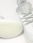 Εικόνα από Ανδρικά sneakers ελαστικά με λεπτομέρειες Γκρι