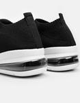 Εικόνα από Γυναικεία sneakers ελαστικά Μαύρο