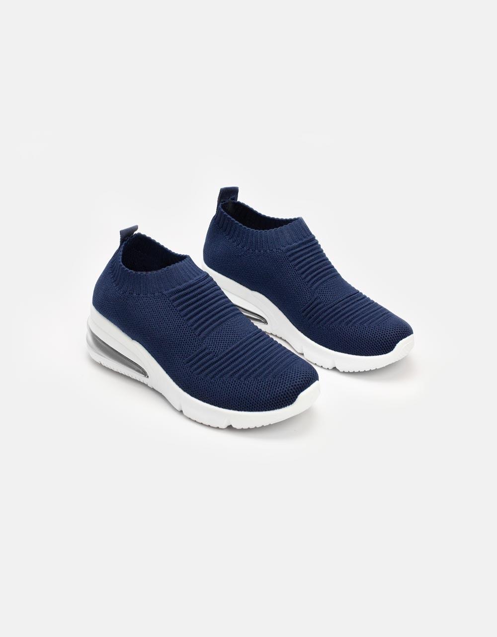 Εικόνα από Γυναικεία sneakers ελαστικά Navy