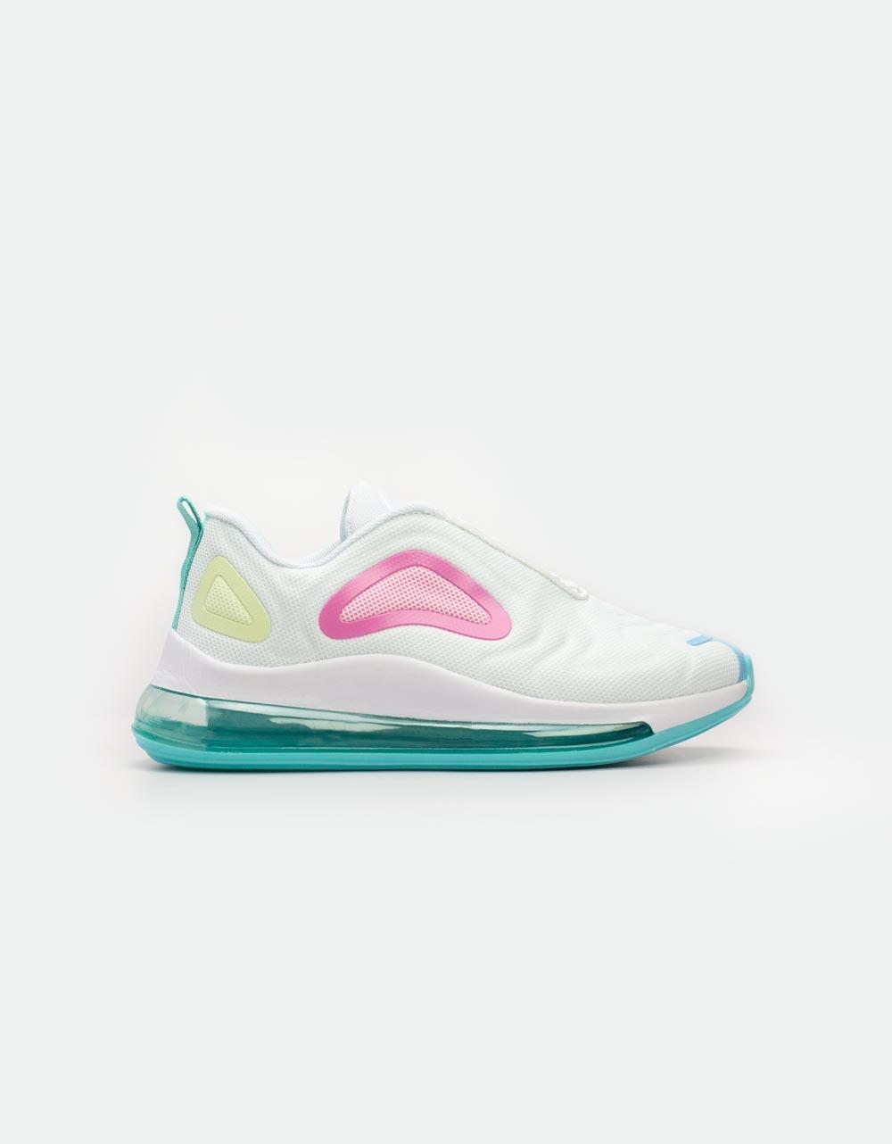 Εικόνα από Γυναικεία sneakers με αερόσολα Λευκό/Ροζ
