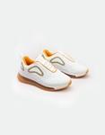 Εικόνα από Γυναικεία sneakers με αερόσολα Λευκό/Σαμπανί