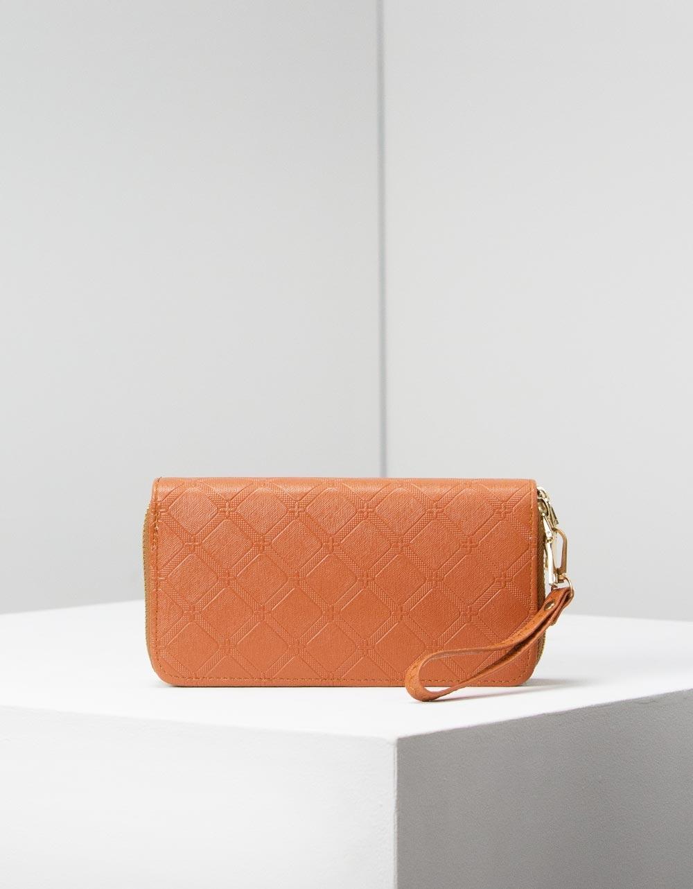 Εικόνα από Γυναικεία πορτοφόλια με φερμουάρ Ταμπά