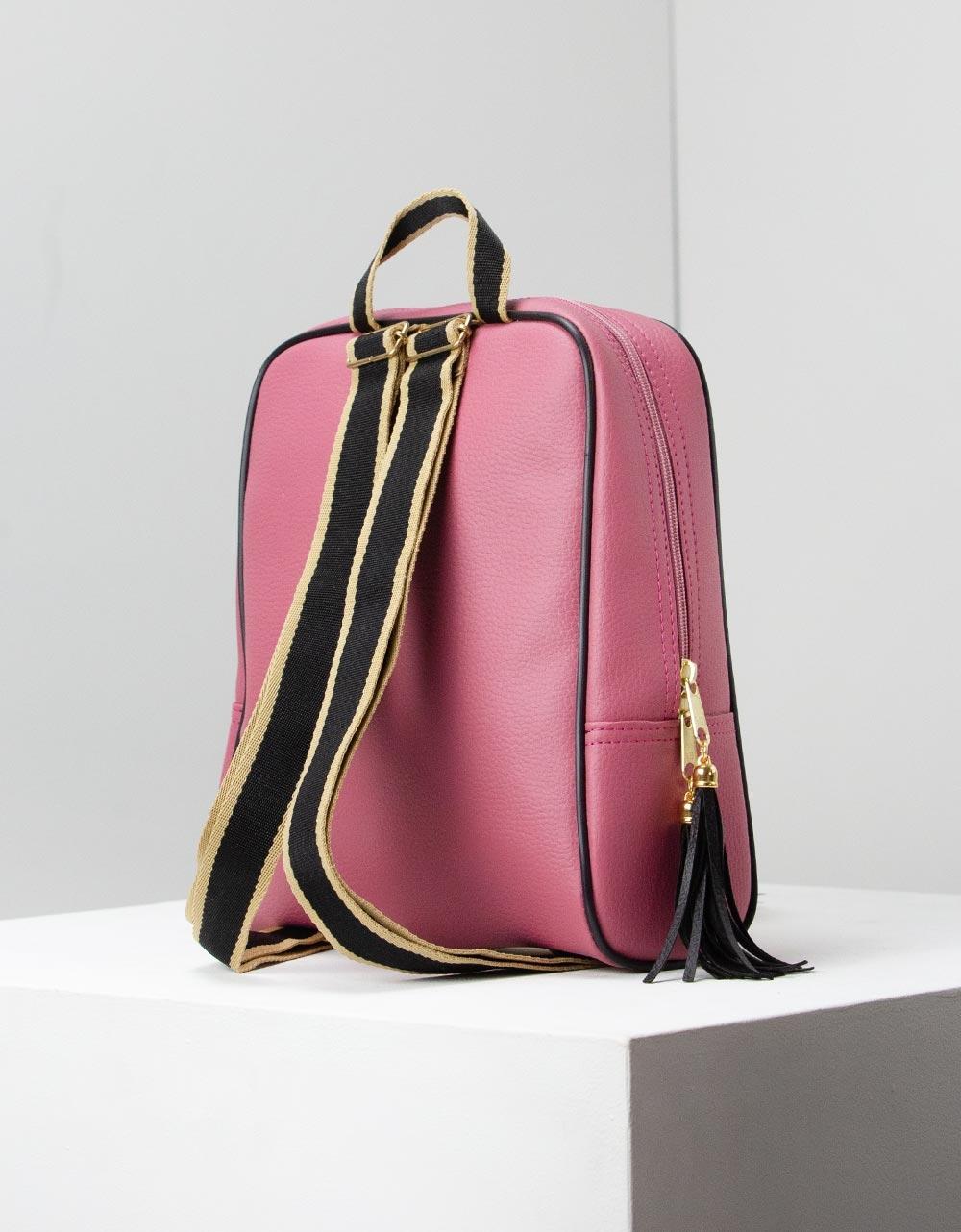Εικόνα από Γυναικεία σακίδια πλάτης με print Ροζ